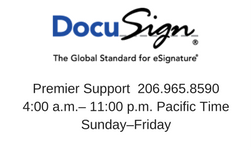 DocuSign banner